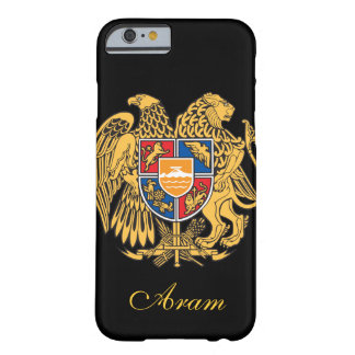 Bandera de Armenia Funda De iPhone 6 Barely There