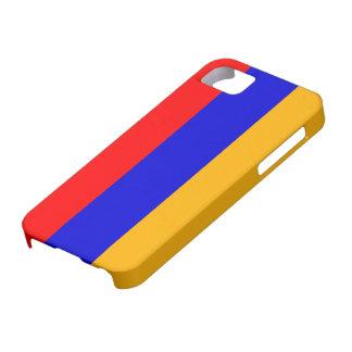 Bandera de Armenia Funda Para iPhone 5 Barely There