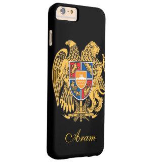 Bandera de Armenia Funda Para iPhone 6 Plus Barely There