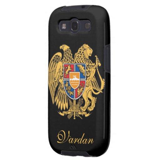 Bandera de Armenia Galaxy S3 Fundas