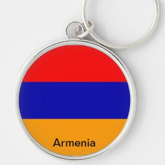 Bandera de Armenia Llavero Personalizado