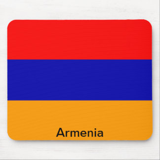 Bandera de Armenia Tapetes De Ratón