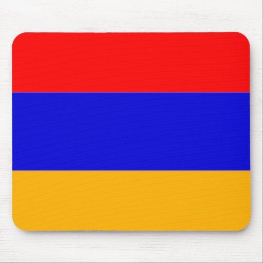 Bandera de Armenia Tapetes De Raton