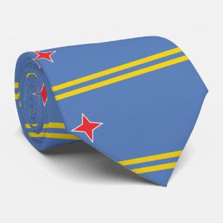 Bandera de Aruba Corbata