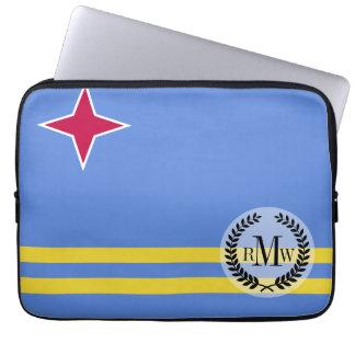 Bandera de Aruba Fundas Computadoras