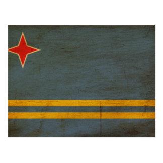 Bandera de Aruba Postal