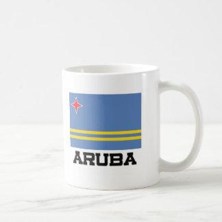 Bandera de Aruba Tazas