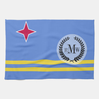 Bandera de Aruba Toallas