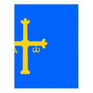 Bandera de Asturias - Flag of Asturias Postcard