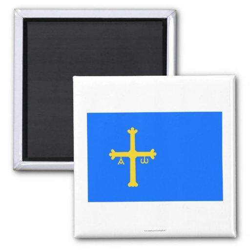 Bandera de Asturias Iman
