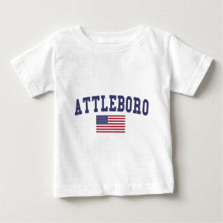 Bandera de Attleboro los E.E.U.U. Playeras