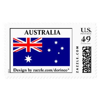 Bandera de Australia - 1:2 correcto de la relación Sellos Postales