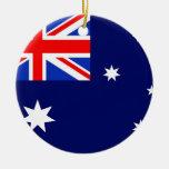 Bandera de Australia Adorno