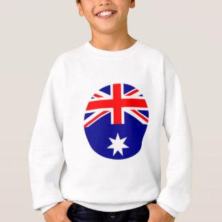 Bandera de Australia - circunde el MUSEO Zazzle Sudadera