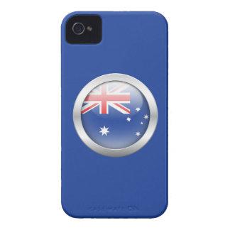 Bandera de Australia en orbe iPhone 4 Coberturas