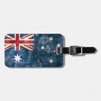 Bandera de Australia Etiqueta De Equipaje