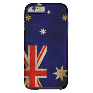 Bandera de Australia Funda De iPhone 6 Tough