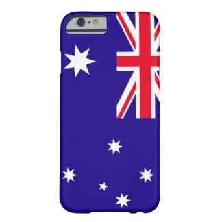 Bandera de Australia Funda De iPhone 6 Barely There