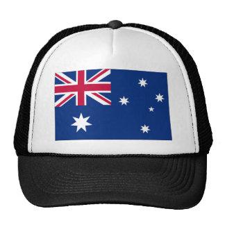 Bandera de Australia Gorros Bordados