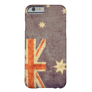 Bandera de Australia - Grunge Funda De iPhone 6 Barely There
