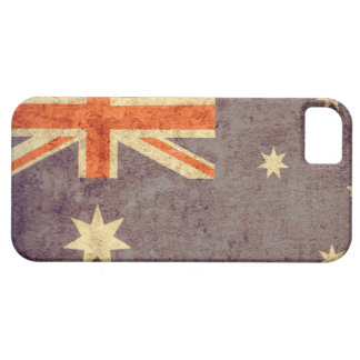 Bandera de Australia - Grunge iPhone 5 Case-Mate Funda