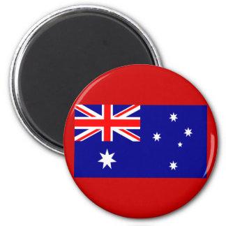 Bandera de Australia Imán Redondo 5 Cm
