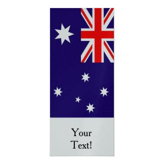 """Bandera de Australia Invitación 4"""" X 9.25"""""""