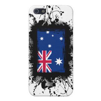 Bandera de Australia iPhone 5 Carcasas