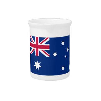 Bandera de Australia Jarra Para Bebida
