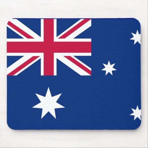 Bandera de Australia Mousepad