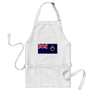 Bandera de Australia occidental del gobernador de  Delantal