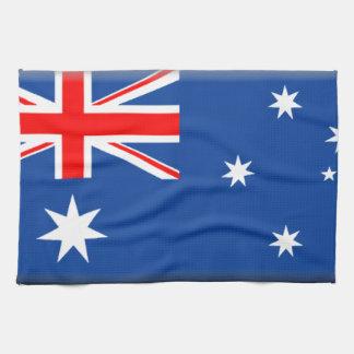 Bandera de Australia Toallas De Mano