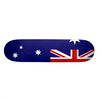 Bandera de Australia Monopatín Personalizado