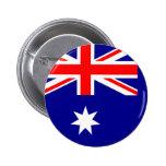 Bandera de Australia Pin Redondo De 2 Pulgadas