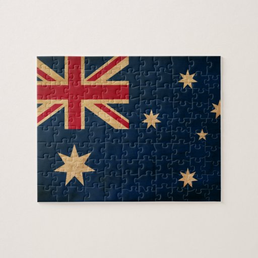 Bandera de Australia Puzzles Con Fotos