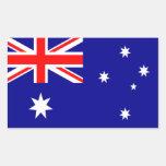 Bandera de Australia Rectangular Altavoces