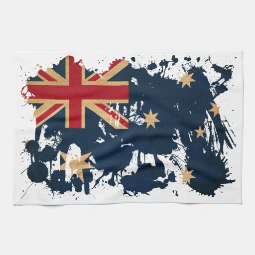 Bandera de Australia Toalla