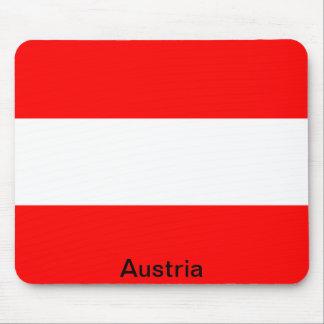 Bandera de Austria Alfombrilla De Ratones