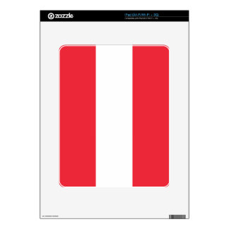 Bandera de Austria Calcomanía Para iPad