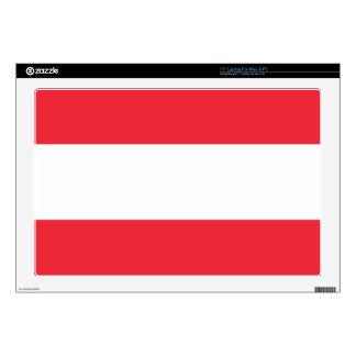 Bandera de Austria Calcomanía Para Portátil