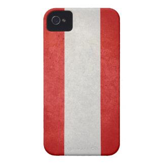 Bandera de Austria Case-Mate iPhone 4 Protectores