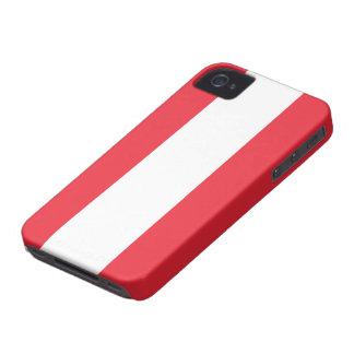 Bandera de Austria iPhone 4 Cobertura