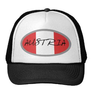 ¡Bandera de Austria! Gorra
