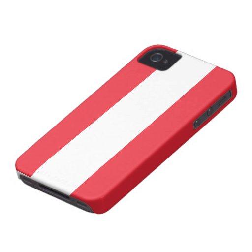 Bandera de Austria iPhone 4 Protector