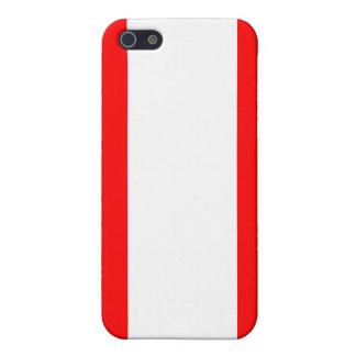 Bandera de Austria iPhone 5 Carcasa