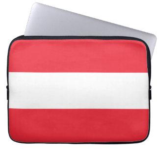 Bandera de Austria Mangas Computadora