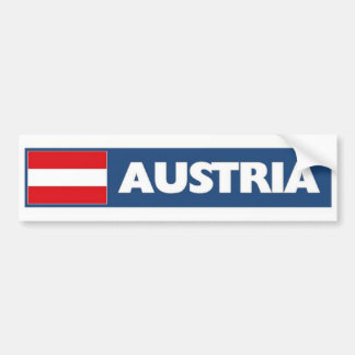 Bandera de Austria Pegatina Para Auto