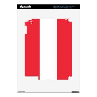 Bandera de Austria Pegatina Skin Para iPad 3