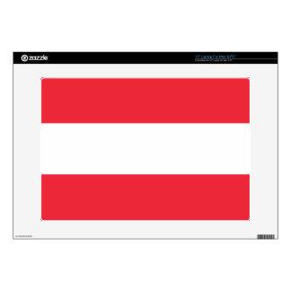 Bandera de Austria Portátil 38,1cm Skins