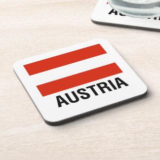 BANDERA de AUSTRIA Posavasos